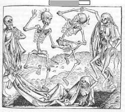 Baile de la muerte: Hallowín, día de los difuntos, día de los queridos que ya no están con nosotros, noche de brujas,... y pronto....Diciembre.