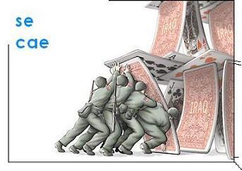 Naipes, Iraq y alianza de civilizaciones. Se caén los naipes.