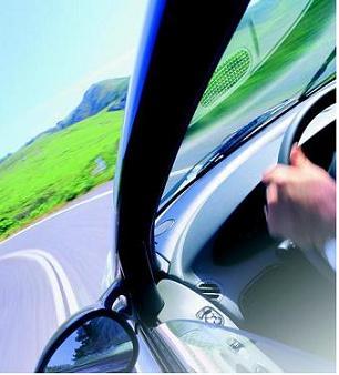 Conducir un coche en una carretera sin ambición, sin meta, sin ilusión.