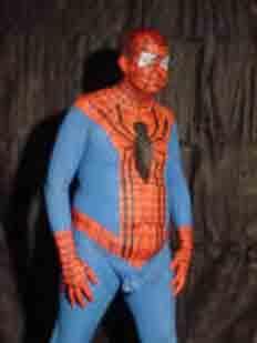 Ese héroe vestido de pijama y que expulsa red babosa (sabosa)  llamado Spiderman.